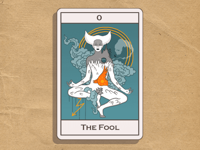 Olga Rukina art. Tarot. The Fool.