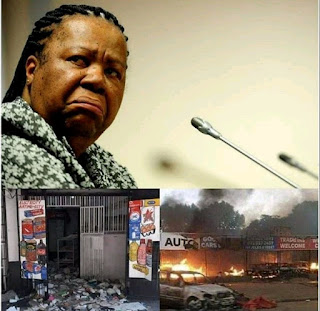"""""""We're Not Compensating Nigerians and Others Whose Businesses Were Affected By Xenophobic Attacks """" - South African Minister Of Foreign Affairs"""