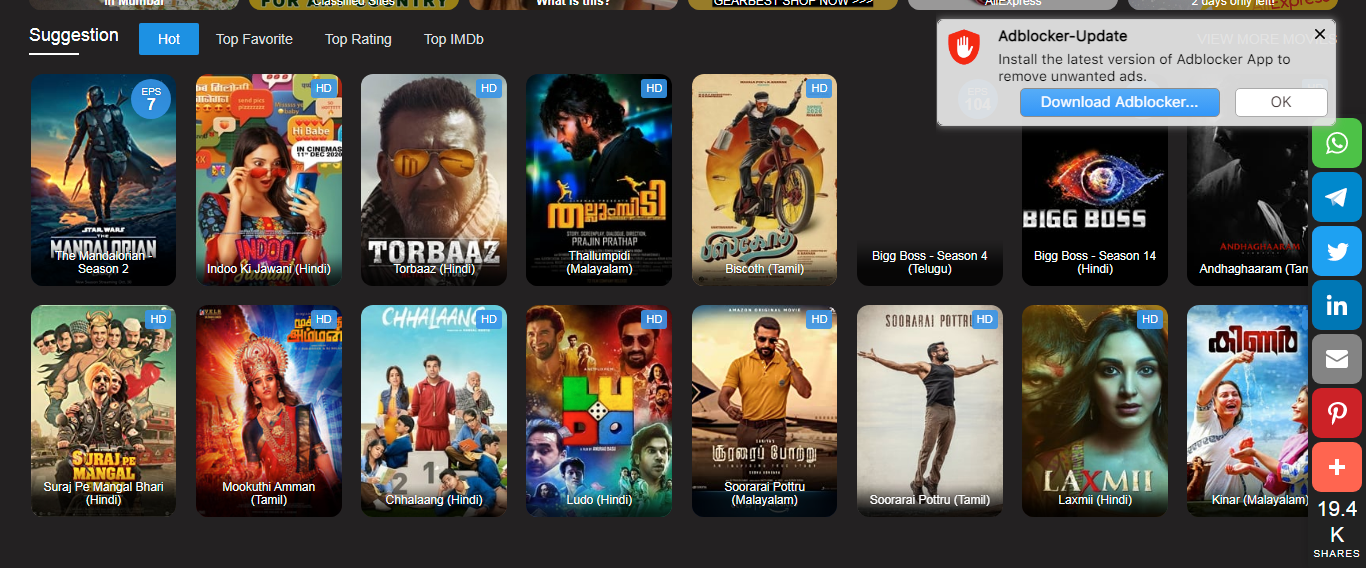 Top 5+ Best free Malayalam Movie Download sites