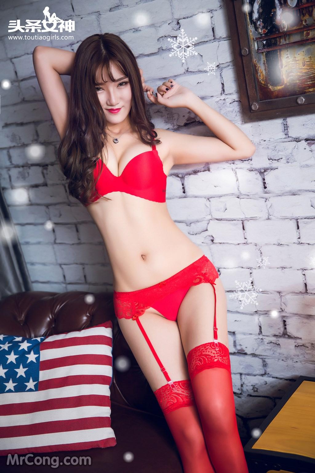 Image MrCong.com-TouTiao-2016-12-24-He-Jiao-Jiao-and-Yao-Yao-007 in post TouTiao 2016-12-24: Người mẫu He Jiao Jiao (何娇娇) và Yao Yao (药药) (41 ảnh)