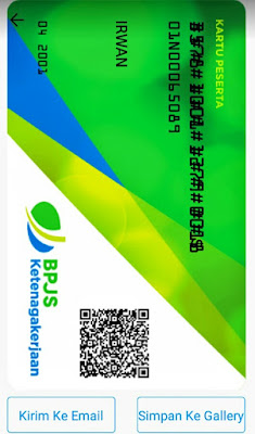 Kartu Digital BPJS Ketenagakerjaan di Aplikasi BPJSTKu - Cara Bikin Kartu Digital BPJS TK (Jamsostek) Di Aplikasi BPJSTKu Versi Terbaru