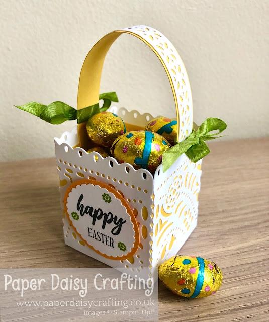 jubilee beauty dies Stampin up Easter basket