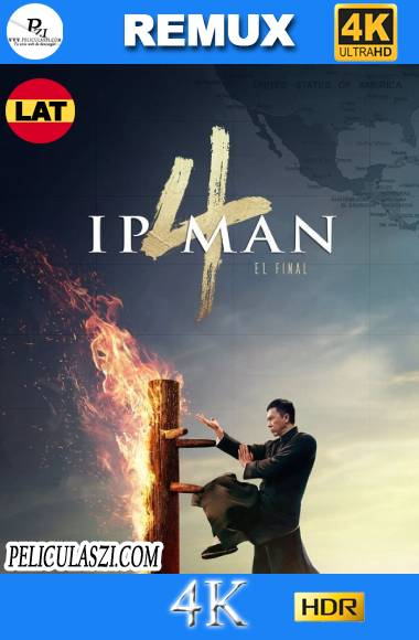 Ip Man 4 (2019) Ultra HD REMUX 4K HDR Dual-Latino VIP