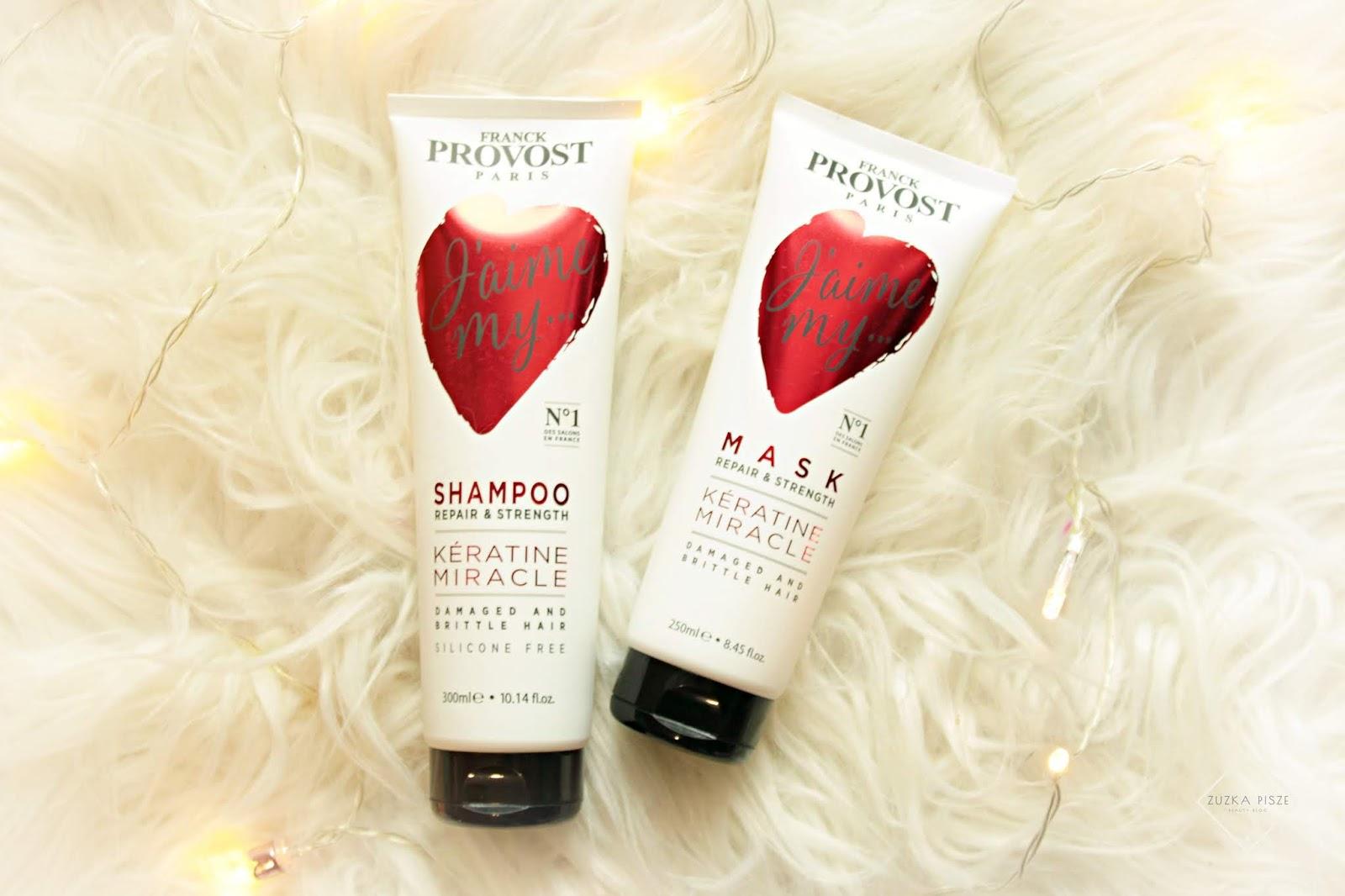 FRANCK PROVOST naprawczo-wzmacniający szampon i maska do włosów