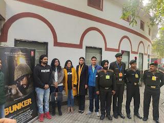 """फिल्मडिवीजन दिल्ली में फिल्म """"बंकर"""" की एक विशेष स्क्रीनिंग का आयोजन"""