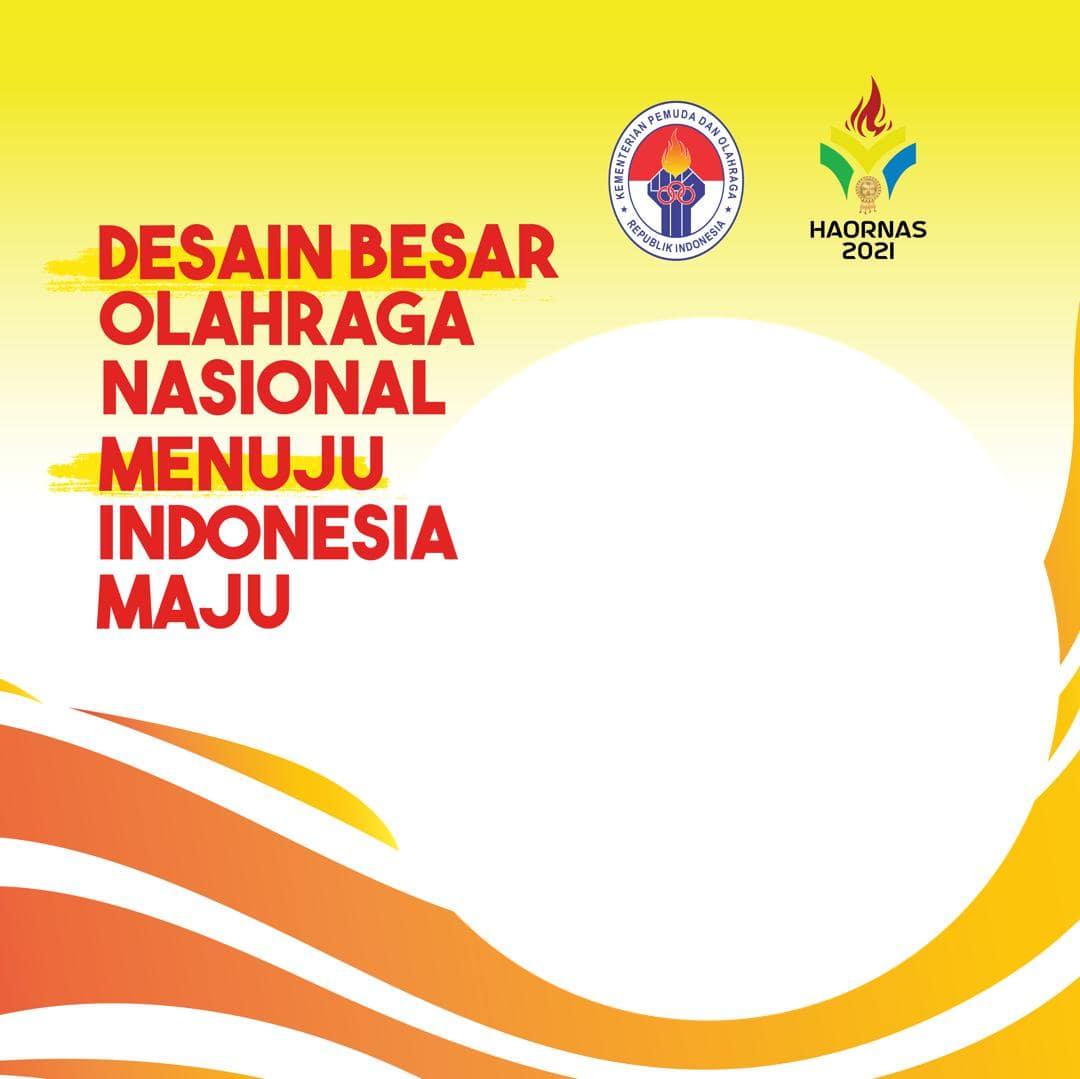 Link Download Frame Bingkai Twibbon Selamat Hari Olahraga Nasional 2021 (Kemenpora) - Twibbonize