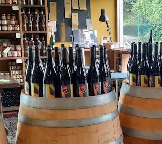 esposizione del nuovo Pinot Nero etichetta