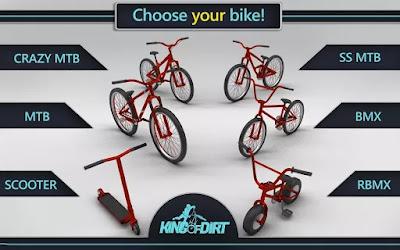 تحميل لعبة King Of Dirt سباق الدراجات مهكرة كاملة للاندرويد