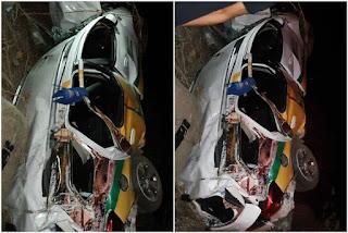 Grave acidente com veículo de prefeitura deixa um morto e seis feridos, na PB