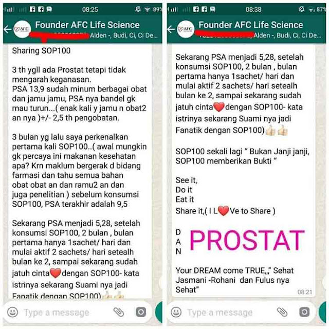Agen Jual: Produk AFC SOP 100+, SOP Subarashi Isi Berapa dan Utsukushii dan Subarashii, di Bandung