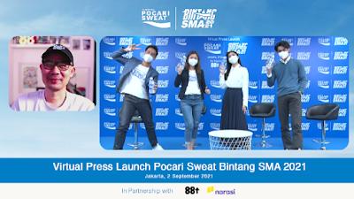 Pocari Sweat Dukung Mimpi Generasi Muda Indonesia