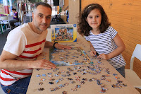 Campeonato de puzles en el colegio Arteagabeitia