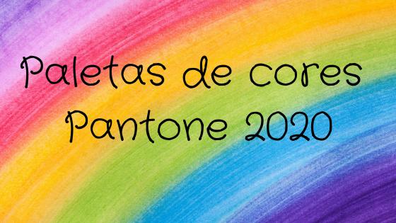 cores pantone 2020