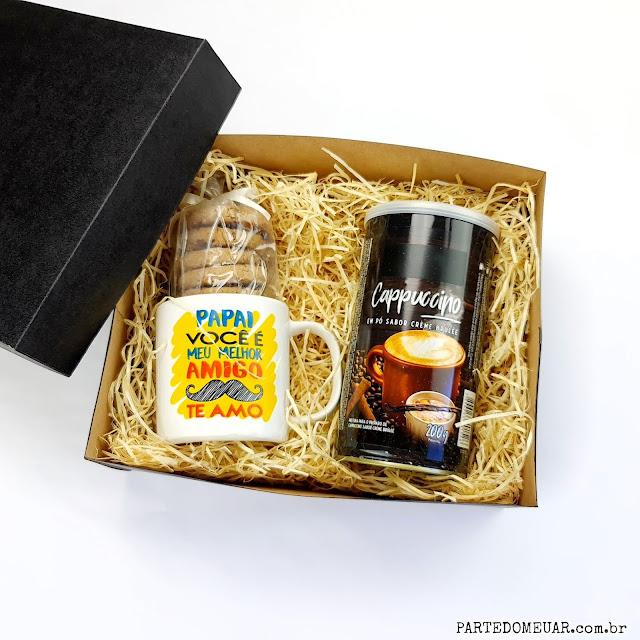 caixa de presente personalizada como fazer