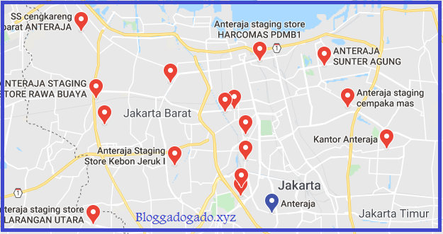 Daftar Anteraja Jakarta Lengkap Dengan Alamat Dan Telepon Bloggadogado