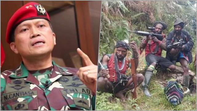 Mantan Danjen Kopassus Ajak Teroris KKB untuk Kembali Bergabung ke NKRI