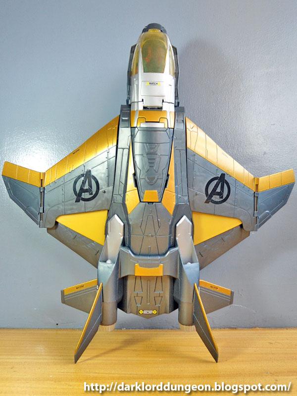 GeekMatic!: Marvel Avengers Quinjet  GeekMatic!: Mar...