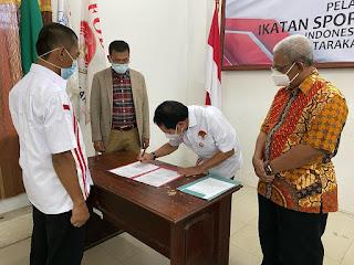 Pelantikan Kepengurusan Baru Ikatan Sport Sepeda Indonesia (ISSI)