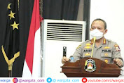 Pimpin Vicon, Kabarhakam Polri Tekankan Arahan Presiden Jokowi Soal PPKM Level 4