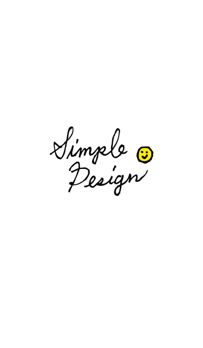 Simple Design - smile-joc