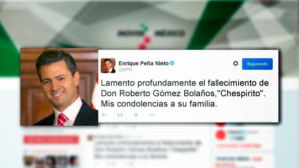twitter el presidente enrique peña nieto