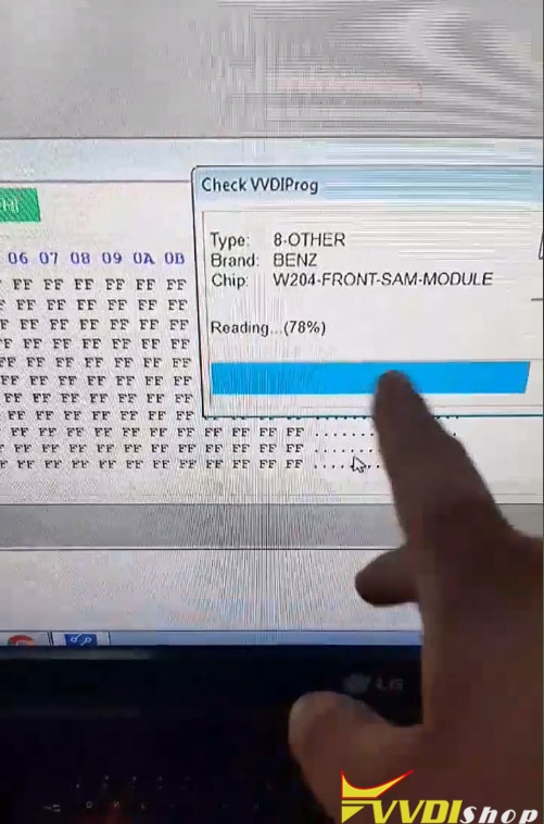 vvdiprog-benz-w204-front-sam-cloning-15