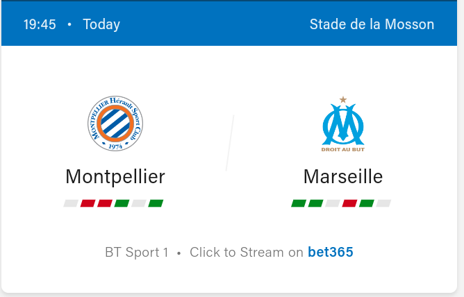 Montpellier vs Marseille Football Preview and Predictions 2021