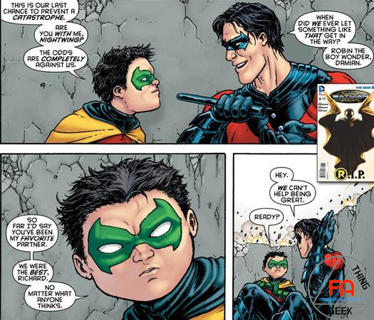 Robin Damian Dies in Batman Inc #8 Download Issue Free