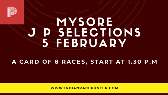 Mysore Jackpot Selections 5 February