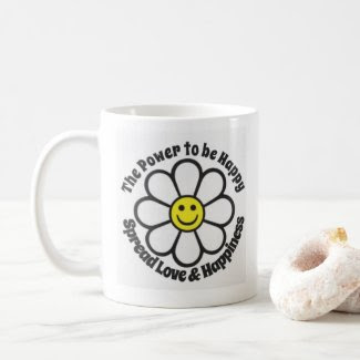 The Power to be Happy Mug