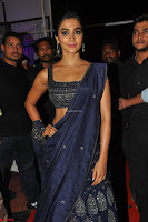 Pooja Hegde choli saree at DJ Duvvada Jaggannadham music launch ~  Exclusive 133.jpg