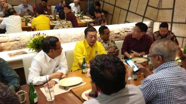 Jokowi Tak Jawab Pertanyaan Soal Mahfud Md Batal Cawapres