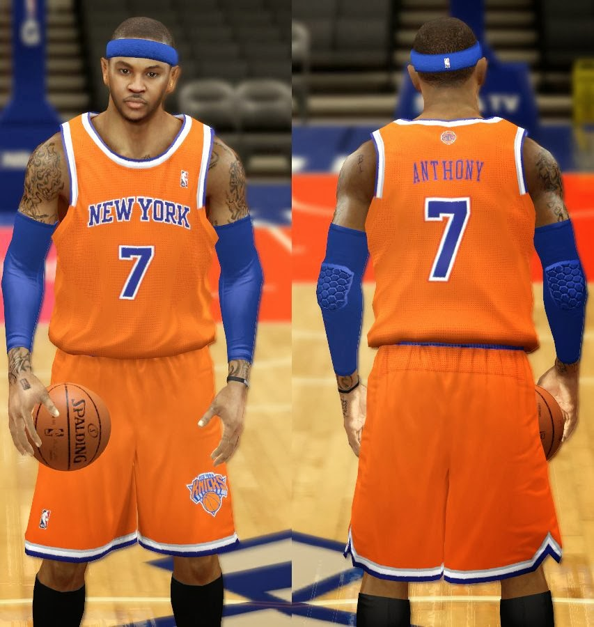 super popular 72304 bcd9a NBA 2K14 Complete New York Knicks Jersey Patch - NBA2K.ORG