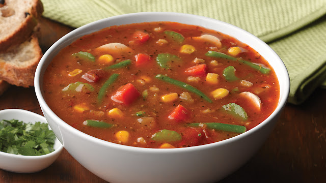 Italian Garden Vegetable Soup Recipe