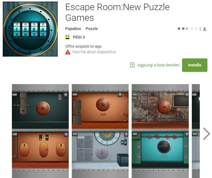 Soluzioni Escape Room:New Puzzle Games di tutti i livelli | Walkthrough guide