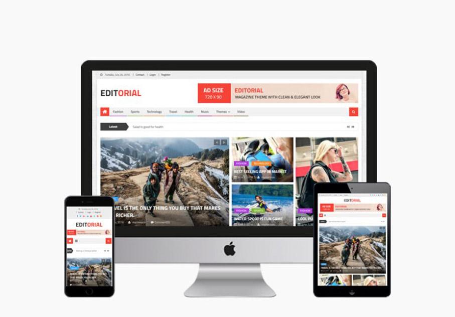 Free News Portal WordPress Theme