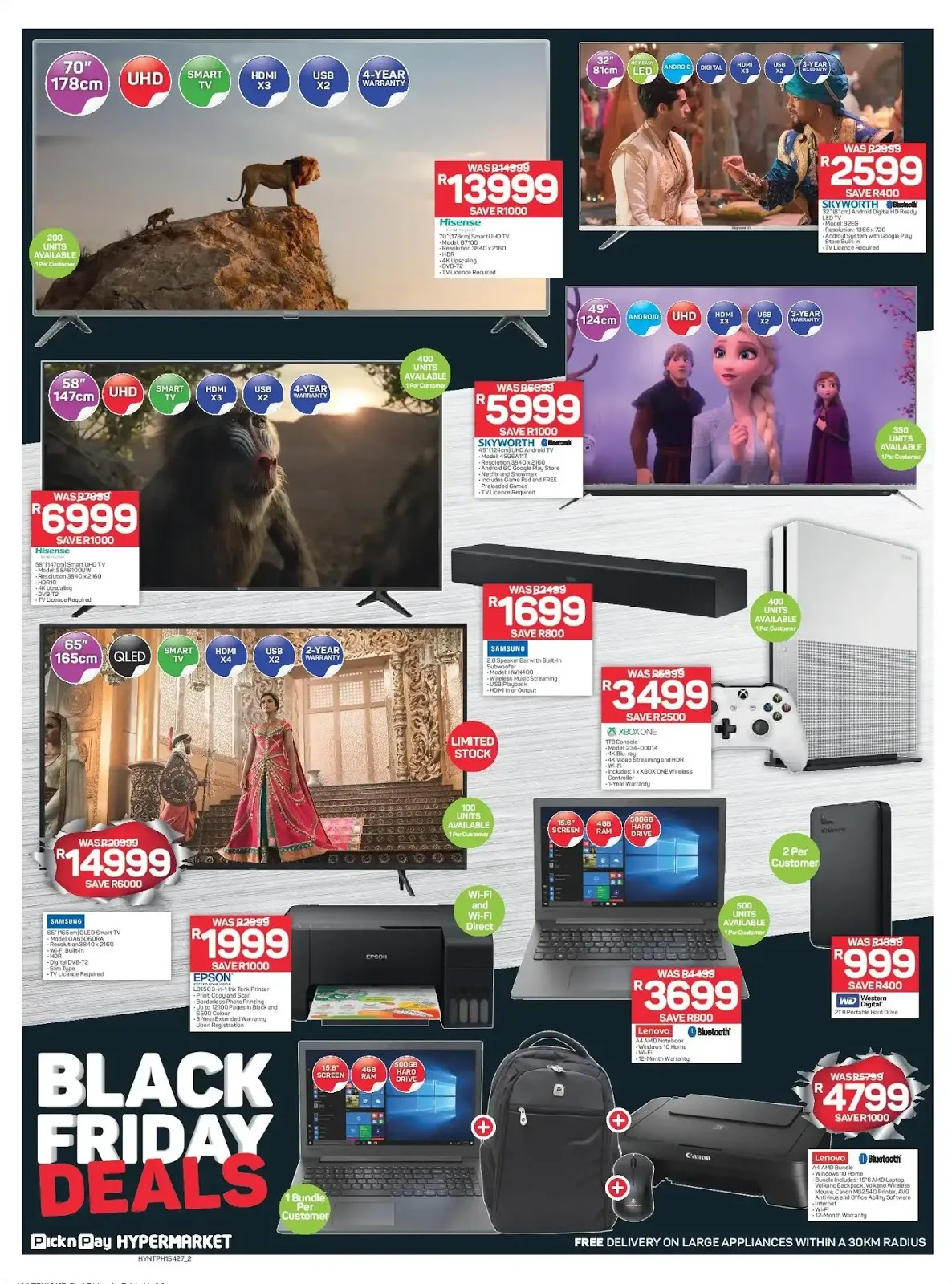 Pick n Pay Hypermarkets Black Friday deals - Page 2