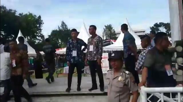 Live Report! Persiapan Kedatangan Presiden Joko Widodo di kota Pematangsiantar