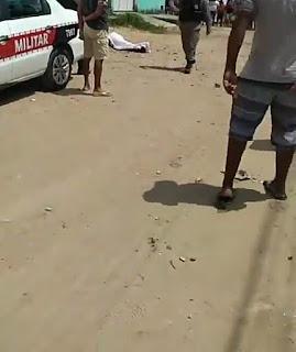 Violência   no jardim Planalto homem é morto a tiros em praça publica