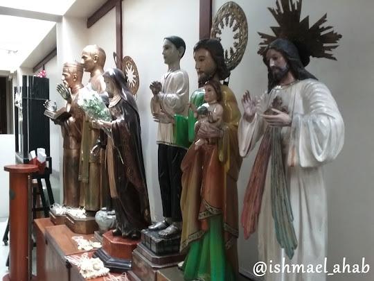 Saints in National Shrine of Saint Jude