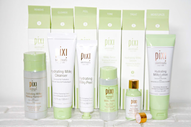 Pixi Hydrating Milky Range Review