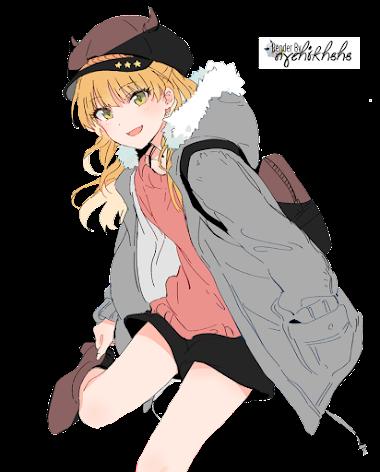 Rika Jougasaki Render #85 by nychikhshs