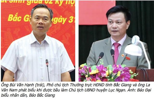 Bắc Giang: Dân sai xử tù, lãnh đạo là ông Bùi Văn Hạnh sai lại... thăng chức