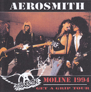 Aerosmith Bootlegs Cover Arts Moline 1994