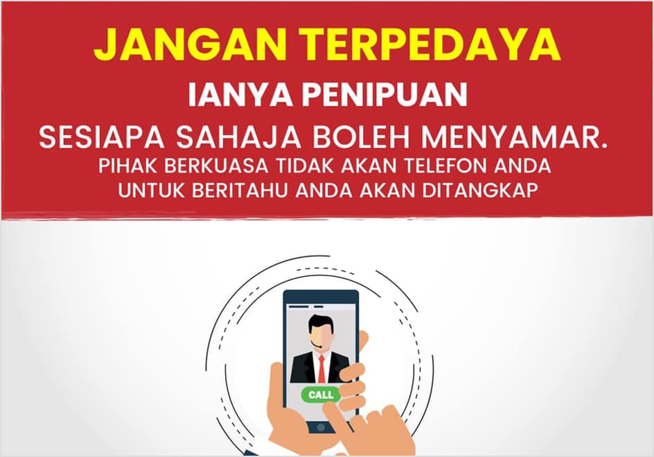 Jangan Terperdaya Jenayah Telekomunikasi