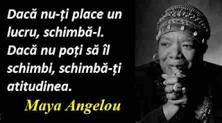 Maxima zilei: 4 aprilie - Maya Angelou