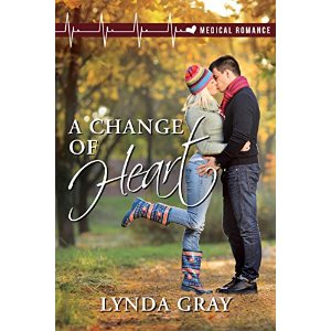change of heart, medical romance, lynda gray, doctor nurse romance
