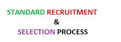Standard Recruitment & Selection Process