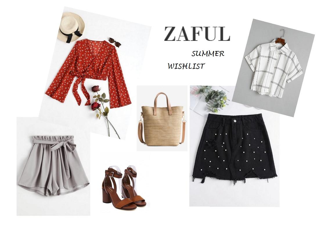 Zaful summer wishlist