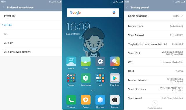 Firmware Fix 4G Redmi Note 3 Pro Kenzo Tanpa UBL dan TWRP